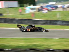 Gregory Thornton - 1976 Lotus 77 (BenGPhotos) Tags: formula1 2018 masters historic festival brands hatch formula one championship race racing sports motorsport panning car jps john player special gregory thornton 1976 lotus 77 ford cosworth f1