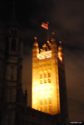 Парламент і Біг Бен Лондон вночі InterNetri United Kingdom 0451