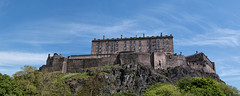 Edinburgh Castle pano (Francis Mansell) Tags: building castle edinburgh edinburghcastle sky castlerock pano panorama scotland architecture rock crag ramparts battlements