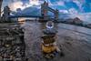 DSCF1448-HDR.jpg (Sav's Photo Gallery) Tags: beach crystalball glassball riverthames savash towerbridge cairn