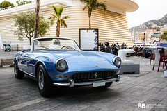 Ferrari 275 GTS (Raphaël Belly Photography) Tags: rb raphaël monaco principality principauté mc montecarlo monte 98000 carlo hotel de paris french riviera south france luxury supercar supercars spotting car cars voiture automobile raphael belly canon eos photographie photography casino ferrari 275 gts bleu bleue blue