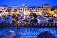 Palermo - Cattedrale (1184 AD) (bautisterias) Tags: palermo sicily sicilia southernitaly italy unesco arabnormanpalermo night longexposure dawn baroque barocco