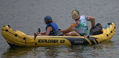 Inflatable Canoe (Scott 97006) Tags: canoe inflatable guys recreation water river paddle explorer k2