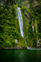Stirling Waterfall (tcmealy) Tags: waterfall stirling milford sound fiordland national park travel nikon d7200