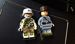 Today's package (LJH91) Tags: citizenbrick wwll cbd lego custom minifigures figure