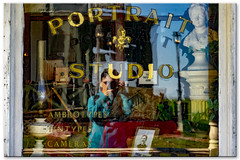 window view (mariola aga) Tags: southdakota 1880town portraitstudio building window reflection selfie selfportrait art thegalaxy