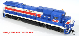 Overland Models 1938 B39-8 Painted as General Electric Demonstrator 606