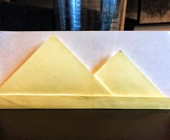 159/365: Egypt, a slightly modified version of David Mitchell's design (mehjg) Tags: 365origamichallenge