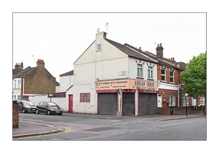 Backstreet Decline, Walthamstow, East London, England.