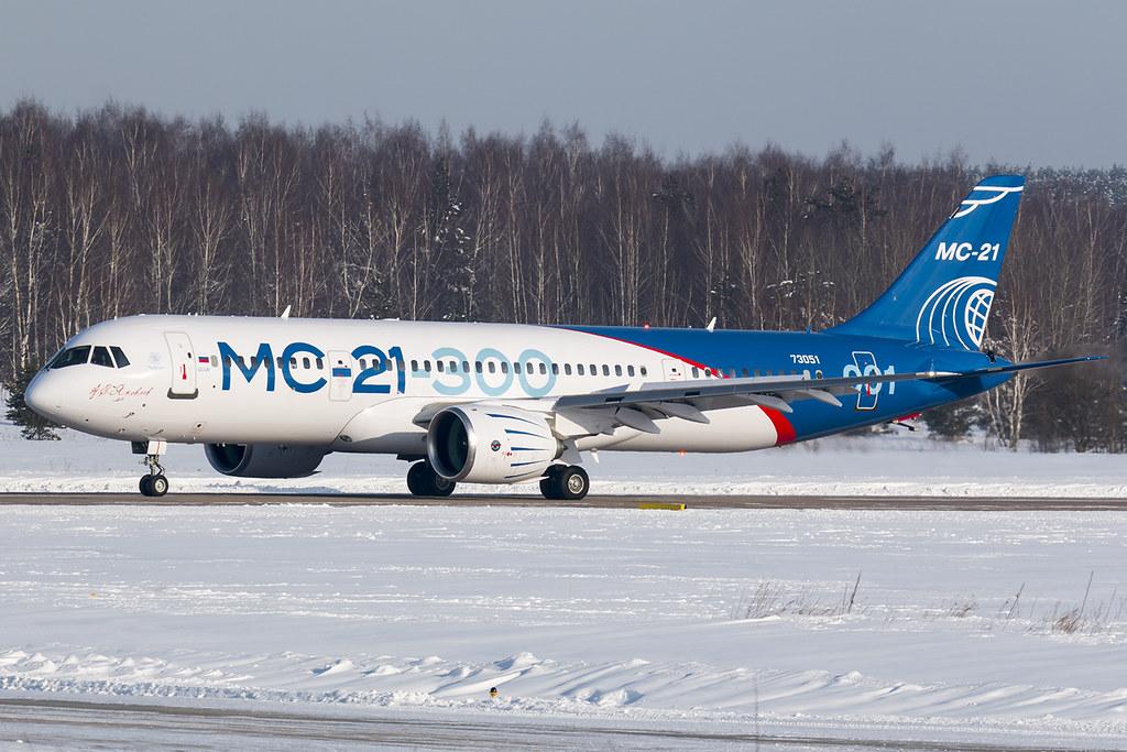 Resultado de imagem para ms-21-300 aircraft