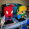 My Replacement Parts Order Came In! (munjey86) Tags: lego moc brickheadz afol