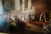 Painting of a royal proclamation (quinet) Tags: 2017 amsterdam antik gemälde hetloo holland netherlands ancien antique painting peinture northholland neterlands 528