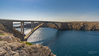 Bridge to the island Pag/ Kroatien