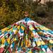 Mati Si / Horse Hoof Temple prayer flags