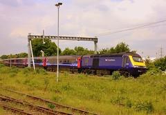 On the Didcot Avoider (Chris Baines) Tags: gwr hst power car 43196 didcot avoiding line worcester shrub hill paddington service