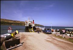 Isle of Rhum MV Loch Nevis  2018 3 (Pgcc) Tags: scotland highlands may2018 isleofrum ferry caledonianmcbrayne calmac weather scottish island summer canona1 35mm film mvlochnevis allrightsreserved©2018