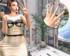 🍎 Vacation Splurge (Apple aka Ossia) Tags: vintage fair vintagefair vf blogger blogging blog photography photoshop photograph ps portrait redhead ginger freckles catwa iconic spicy banana banshee lychee leluck belle epoque cae cazmi vintagey vacation ring jewelry nails classy red lips polish plant fun