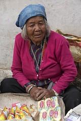 0769 Street Vendor (Hrvoje Simich - gaZZda) Tags: outdoors vendor woman old streets people kathmandu nepal asia travel nikon nikond750 nikkor283003556 gazzda hrvojesimich