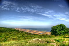 Omaha Beach - view from WN 60, Fox Red sector, Normandy (herbnl) Tags: omahabeach wn60 widerstandsnest dday wwii overlord