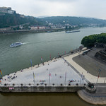 Aerial photo of Deutsches Eck in Koblenz thumbnail