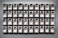 Concave Faces (Florian.Brandt) Tags: nordart 2018 kunst art faces büdelsdorf