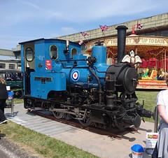 """Talyllyn Railway No 6 """"Douglas"""" (Ado Griff) Tags: talyllynrailway andrewbarclay no6douglas rafcosford raf100"""