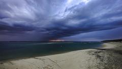 Storm on the Bay of Arcachon ((Virginie Le Carré)) Tags: paysage landscape bayofarcachon nuage cloud orage storm océan ocean atlantique atlantic lumière hdr