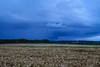 Distant thunderstorm - Pendleton S.C. (DT's Photo Site - Anderson S.C.) Tags: canon 6d 1740mml lens upstate rural andersonsc pendletonsc southcarolina country thunder storm cloud grain farm rain wind cumulonimbus atmosohere weather scenic southernlife crop america usa