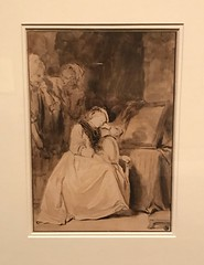 Jean Honore Fragonard_French, 1732-1806_The Dreamer, late 1770s (Hiero_C) Tags: metropolitanmuseum drawing art europeanmasters newyork