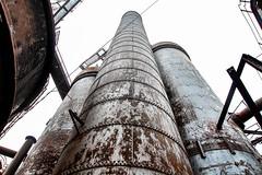 Smokestack Trinity (bbutti86) Tags: carrie carriefurnace riversofsteel homestead rankin rustbelt steelmill steel