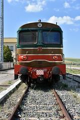 D345 1118 (luciano.deruvo) Tags: trenostorico fs d345 stazione basilicata puglia ferrovieturistiche ferrovidellostato