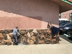"""Paul and Inde Climb a Wall • <a style=""""font-size:0.8em;"""" href=""""http://www.flickr.com/photos/109120354@N07/40630095600/"""" target=""""_blank"""">View on Flickr</a>"""