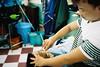 Close Shave (Jetlag & A Camera Bag) Tags: shave barber vietnam hochiminhcity razor leica m6 summicron 35mm film analog kodak portra160 streetphotography travelphotography