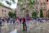 ...and then I came to the Cathedral to complain: (Fnikos) Tags: street road plaza plaça church cathedral catedral sky tree nature architecture building construction umbrella people rain outdoor