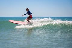 Mastering (GComS) Tags: surf surfeuse wave sea atlantic planche board longboard girl slide