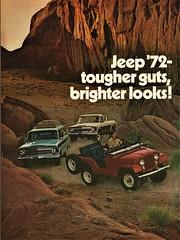 1972 Jeep Ad, Pg. 1 (aldenjewell) Tags: 1972 jeep wagoneer truck pickup ad