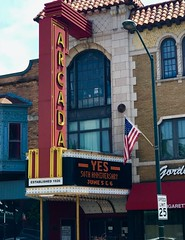 Yes concert- Explore #322 Arcada Theatre Saint Charles Illinois (Meridith112) Tags: explore explored arcada yes concert yesconcert summer music rock rockandroll june 2018 iphone7 iphone saintcharles il illinois midwest theater theatre 50thanniversary tour sign neonsign kanecounty