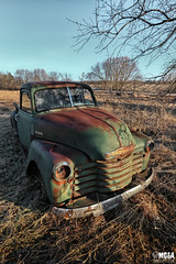 1952 Chevrolet 3100 (Abandoned Rurex World.) Tags: camion abandonné abandon hdr 2018 urban urbex rurex mga explored abandoned truck lost place old vintage decay derelict rusty patina ue exploration urbaine canon 1022mm 70d forgotten chevrolet chevy