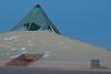 Pyramid Church (benakersphoto) Tags: slowshutter slow az arizona phoenix church building architecture lights light streak nikon nikkor