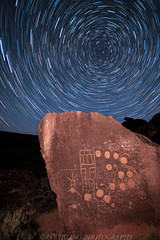 13-Moons Petroglyph (Jaykhuang) Tags: 13moons petroplyph nightphotography petroglyphs indian culture easternsierra jayhuangphotography startrail