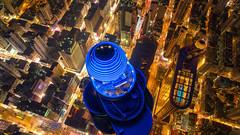 City never sleeps (3dgor 加農炮) Tags: mongkok langhamplace drone phantom4pro
