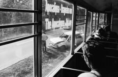 can happen (Drehscheibe) Tags: tram trix400 nikonf2 explore scene analog blackwhite ilfordmicrophendeveloper 35mmfilm