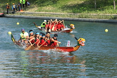 IMG_4780M Dragon boat racing. 爬龍船 (陳炯垣) Tags: boating competition sport water culture