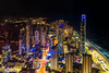 The Glitter Strip (jenni 101 - basically off until July) Tags: australia goldcoast le nikond7200 q1skydeck queensland sigmaart18 surfersparadise cityviews highrise longexposure nightphotography photographybyjen skyline
