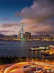 Summer Sky@HK (kkanok403) Tags: summer sky hong kong icc olympus omd em5ii mzuiko 17 f18 victoriaharbour shuntak shung wan digital camera m43 micro 43 em5markii