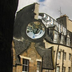 Window Pane (wandering architect) Tags: writers museum edinburgh window pane