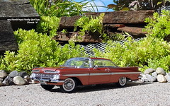1959 Chevrolet Impala Hardtop Sport Coupe (JCarnutz) Tags: 124scale diecast danburymint 1959 chevrolet impala