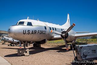 52-1119 USAF   Convair T-29C Flying Classroom   Hill Aerospace Museum