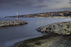 Napoli, Capo Posillipo dal lungomare (58lilu58) Tags: sea ky skyline paesaggio landscape lights luci