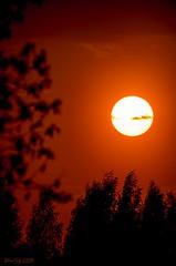 Sunset (EQG64LOQDXKYEIAPTYHNDN5KHB) Tags: teleskoop päikeseloojang eesti tartu 400mm